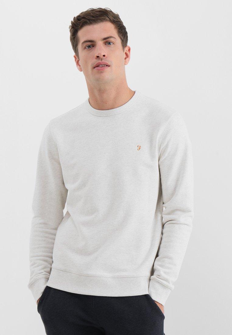 Farah - TIM CREW - Sweatshirt - chalk marl