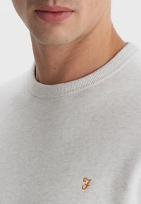 Farah - TIM CREW - Sweatshirt - chalk marl - 3