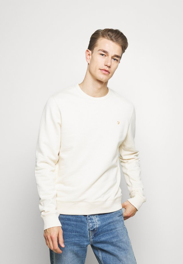 TIM CREW - Sweatshirt - cream