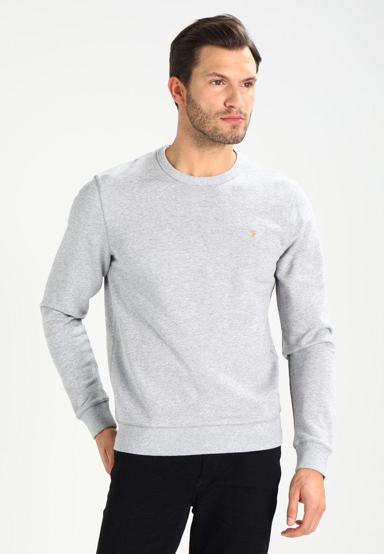 Farah - TIM CREW - Sweatshirt - light grey marl