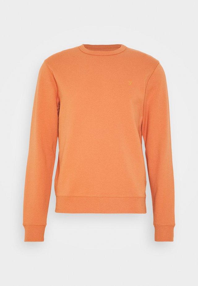 TIM CREW - Collegepaita - moroccan orange