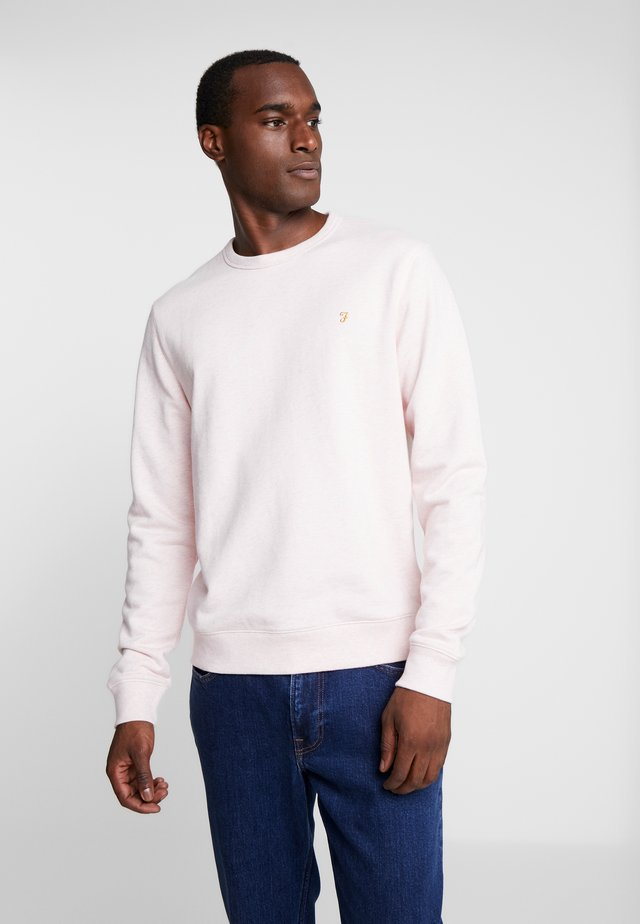 TIM CREW - Sweatshirt - blush marl