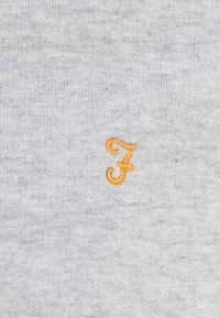 Farah - KYLE HOODIE - Huvtröja med dragkedja - light grey marl - 6