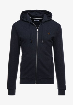 KYLE HOODIE - veste en sweat zippée - true navy marl