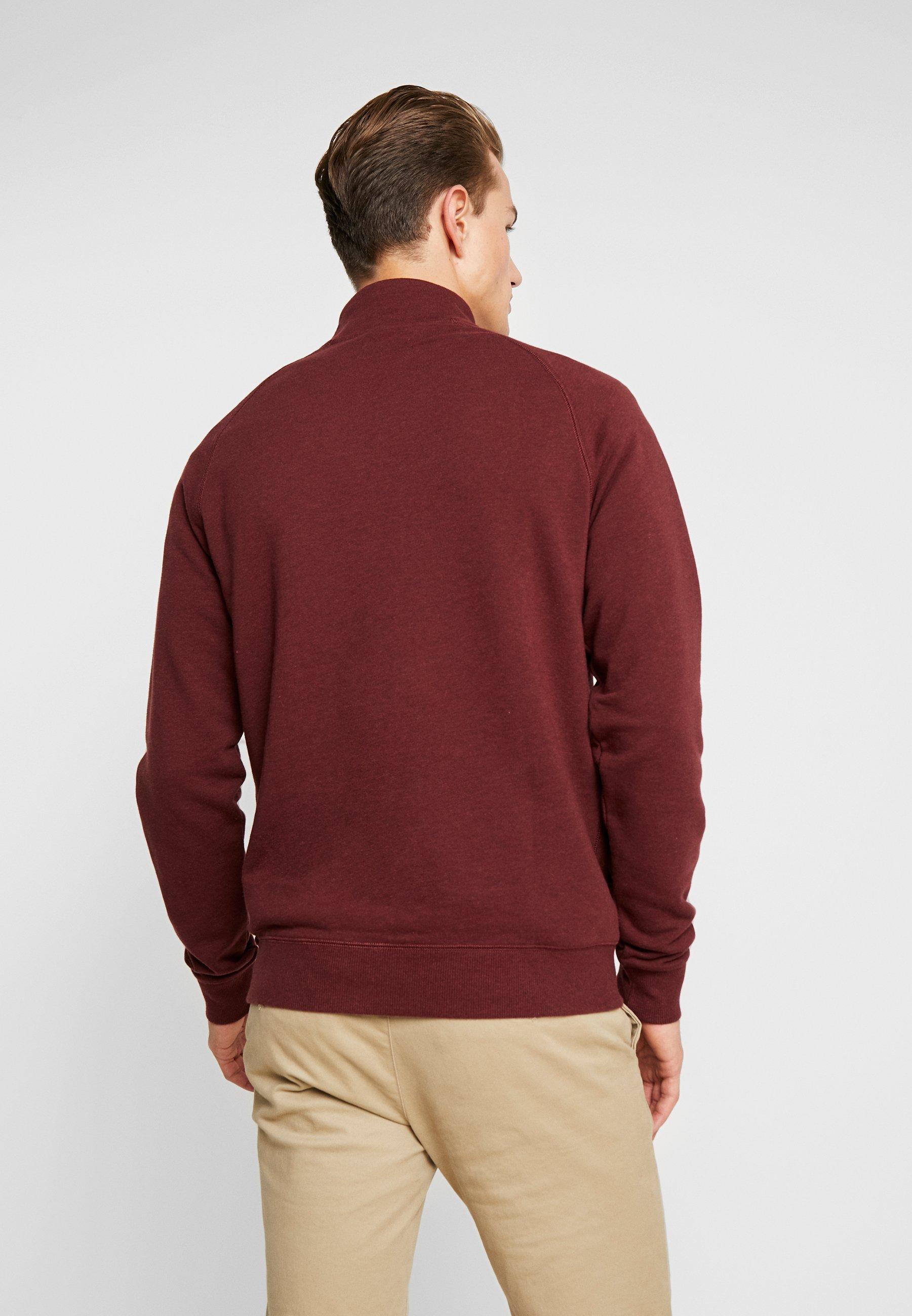Jim Farah ZipSweatshirt Farah ZipSweatshirt Red Jim Red vmO8yn0Nw