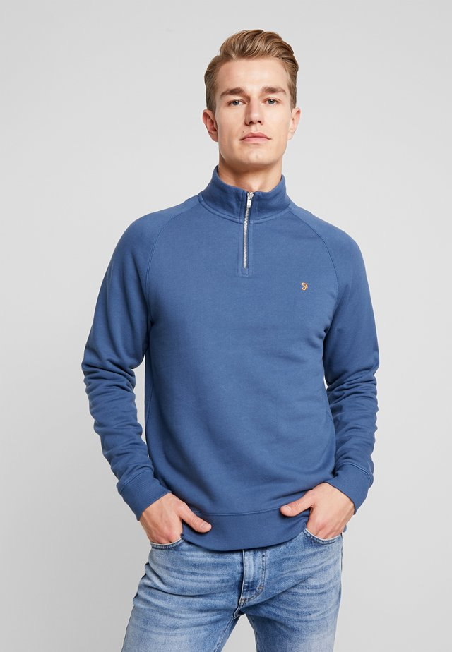 JIM ZIP - Sweatshirt - cold metal