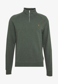 Farah - JIM ZIP - Sweatshirt - deep olive - 3