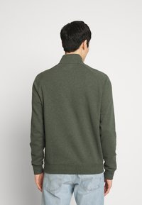 Farah - JIM ZIP - Sweatshirt - deep olive - 2