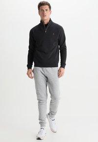 Farah - JIM ZIP - Sweatshirts - black marl - 1