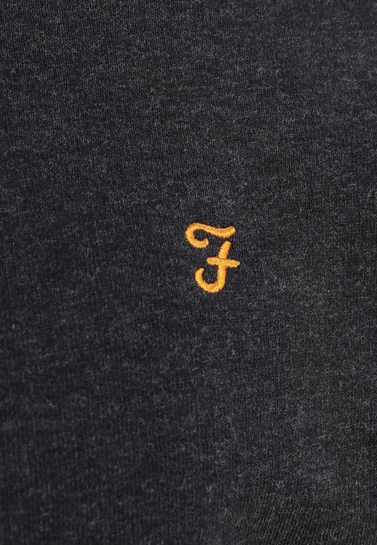 Farah JIM ZIP - Bluza - black marl