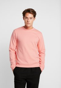 Farah - PICKWELL GARMENT WASHED - Sweatshirt - peach - 0