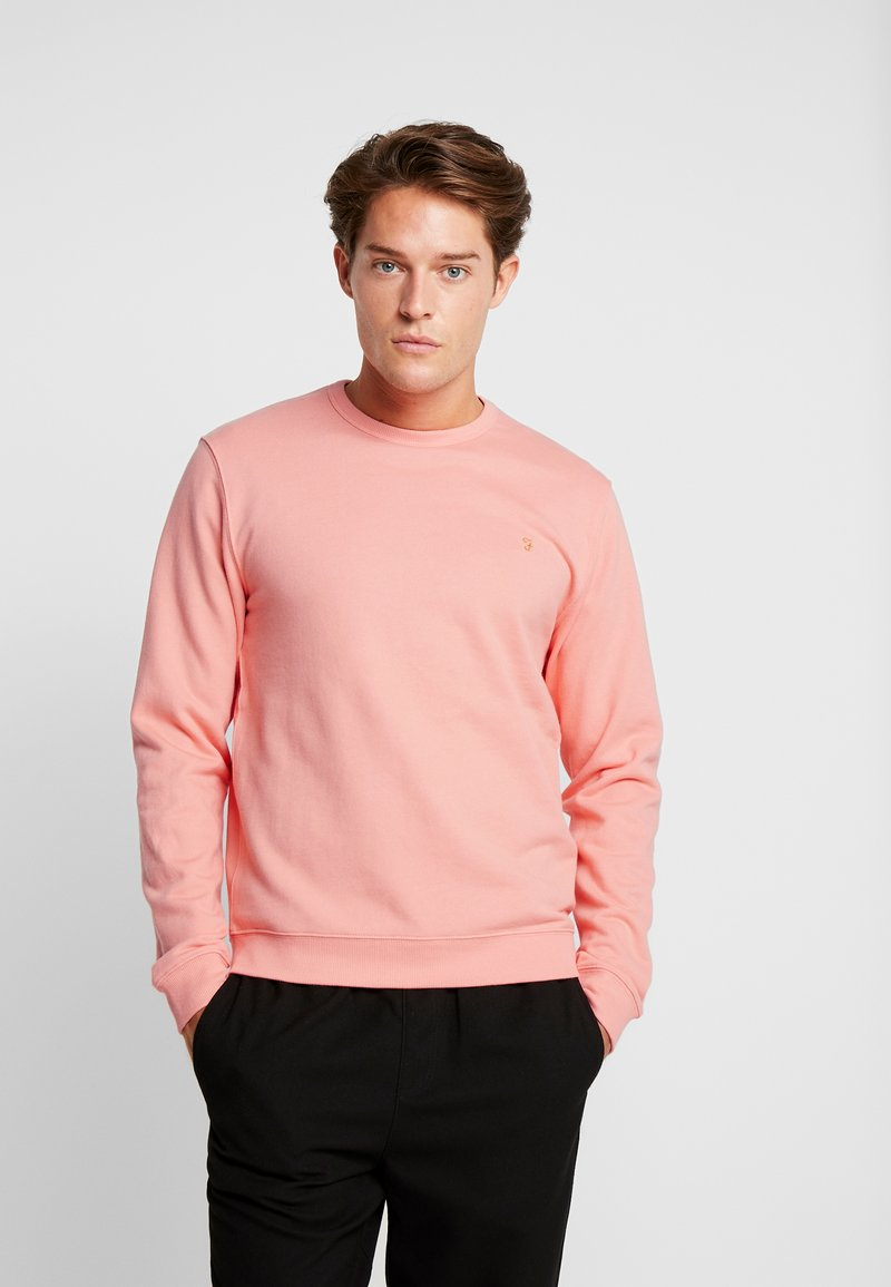 Farah - PICKWELL GARMENT WASHED - Sweatshirt - peach