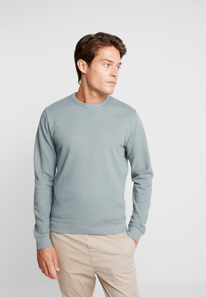 Farah - PICKWELL GARMENT WASHED - Sweatshirt - clay