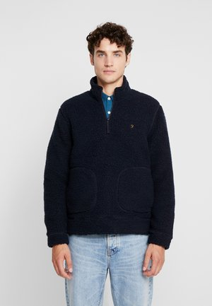 BRIARS 1/4 ZIP - Sweat polaire - true navy
