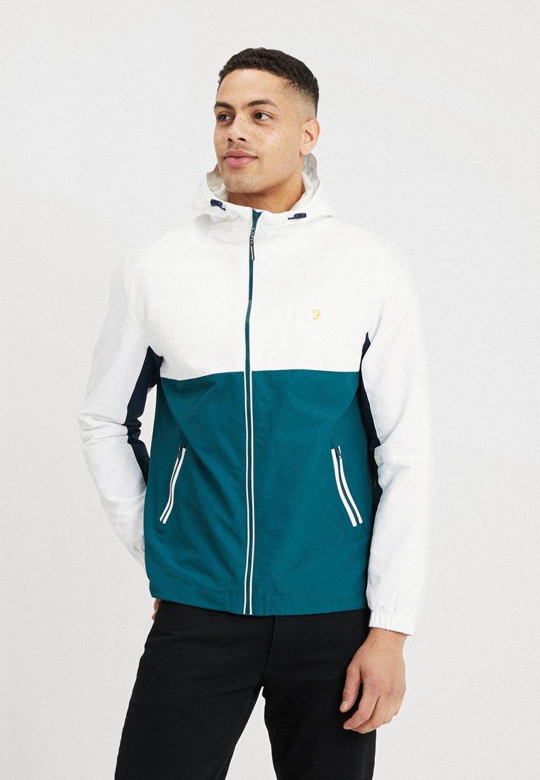 Farah - BONNETT ZIP - Summer jacket - white