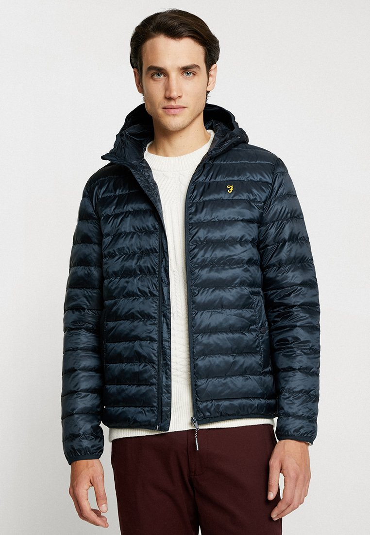 Farah - SPORT BRYAN HOODED  - Light jacket - true navy