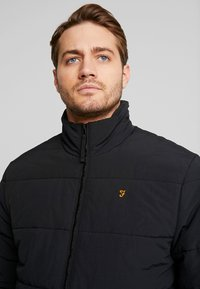 Farah - STAITHLEY - Winter jacket - deep black - 3
