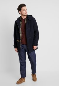 Farah - POPPLETON DUFFLECOAT - Short coat - true navy - 1