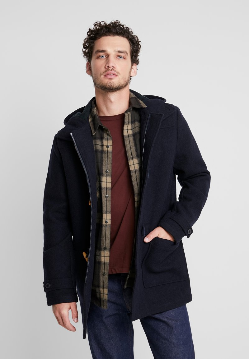 Farah - POPPLETON DUFFLECOAT - Short coat - true navy