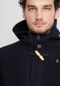 Farah - POPPLETON DUFFLECOAT - Short coat - true navy - 3