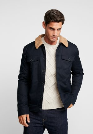 VADHER TRACKER JACKET - Giacca leggera - true navy