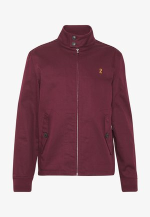 HARDY HARRINGTON - Bomberjacka - farah raspberry