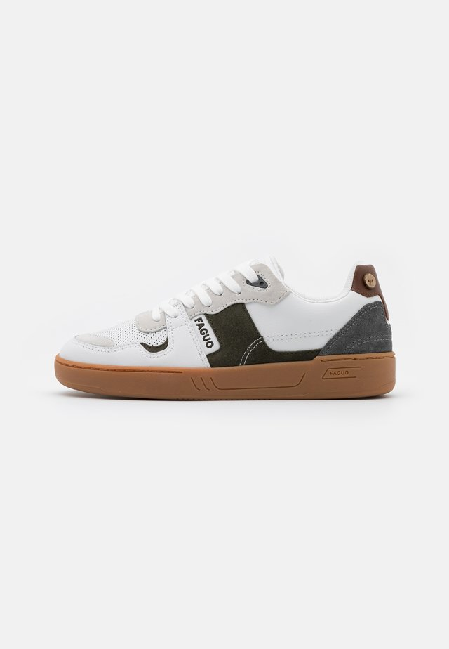CEIBA BASKETS  - Sneakers - offwhite/green