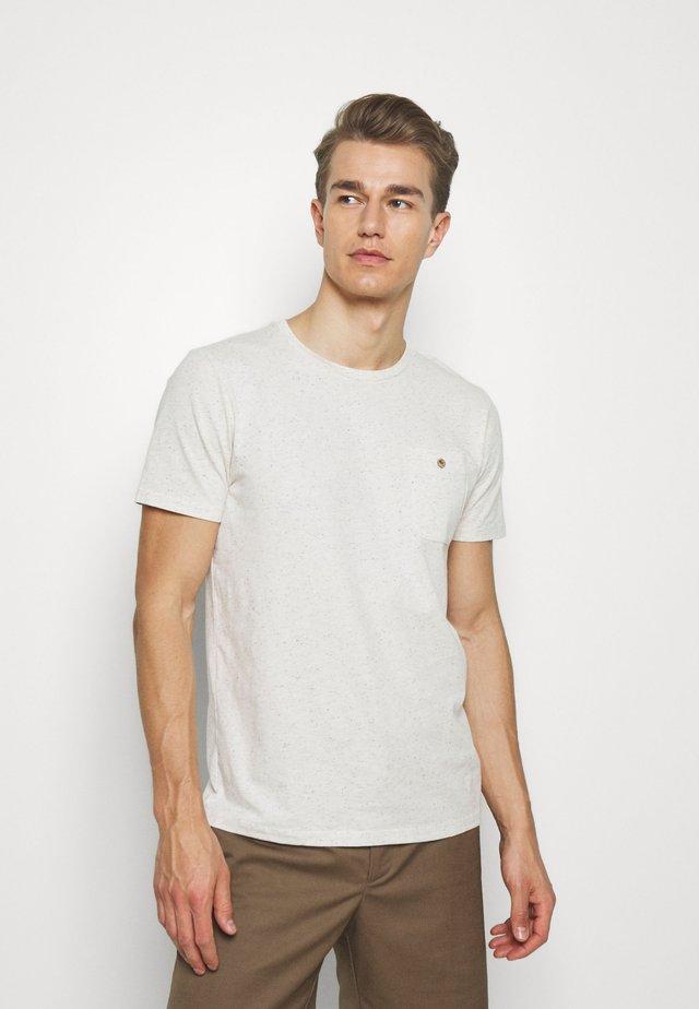 UNISEX OLONNE NEPS - T-shirt med print - off-white