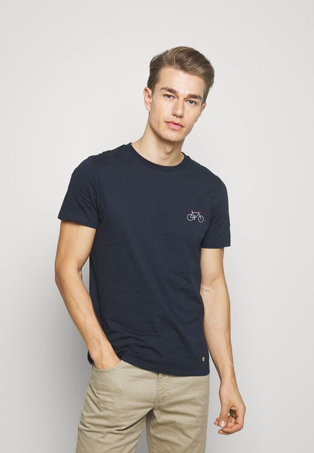 UNISEX - T-shirt print - dark blue