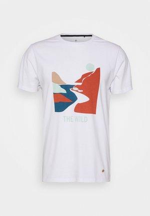 UNISEX - Print T-shirt - weiss