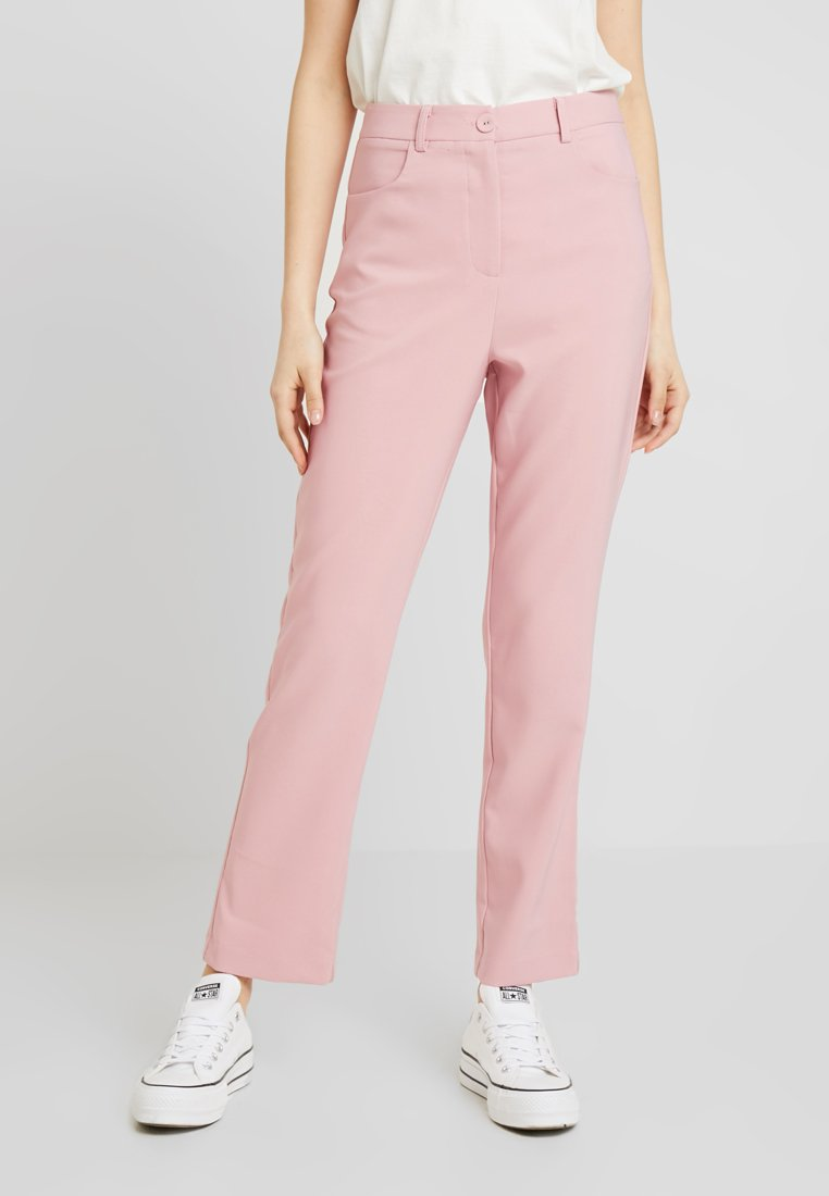 Fashion Union - BENJAMIN TROUSER - Trousers - pink