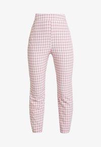 Fashion Union - GINGHAM FROZAY - Kalhoty - pink - 3