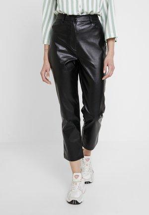 REBEL - Trousers - black
