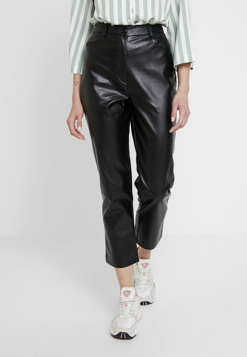 Fashion Union - REBEL - Trousers - black