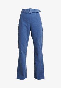 Fashion Union - LONGSAM - Tygbyxor - blue - 4