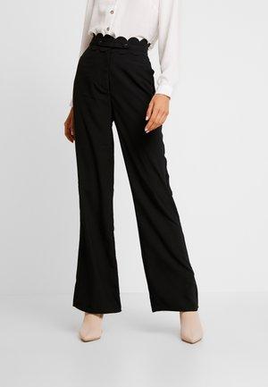 TORA TROUSER - Pantalon classique - black