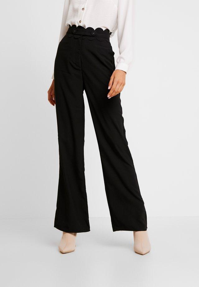 TORA TROUSER - Trousers - black