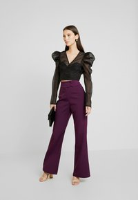 Fashion Union - SPOON TROUSER - Kalhoty - purple - 1