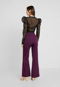Fashion Union - SPOON TROUSER - Kalhoty - purple - 2