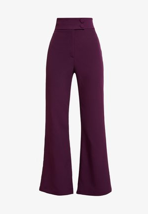 SPOON TROUSER - Kangashousut - purple