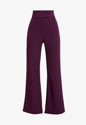 SPOON TROUSER - Kalhoty - purple