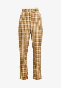 Fashion Union - CLUELESS TROUSERS - Bukse - yellow - 4