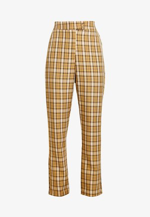 CLUELESS TROUSERS - Bukse - yellow