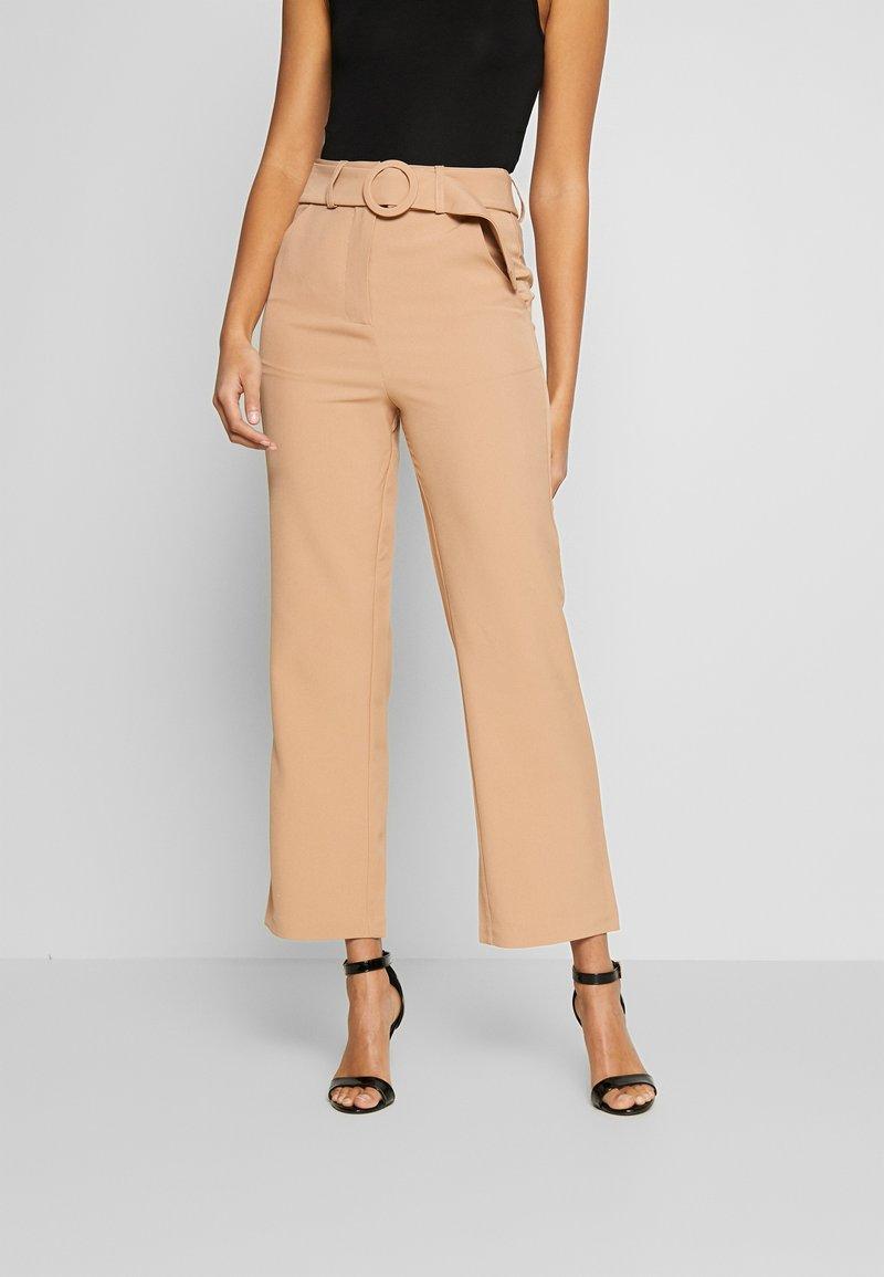 Fashion Union - COYOTE TROUSER - Bukse - beige