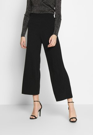 ABILENE TROUSER - Spodnie materiałowe - black