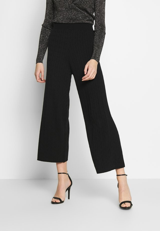 ABILENE TROUSER - Trousers - black