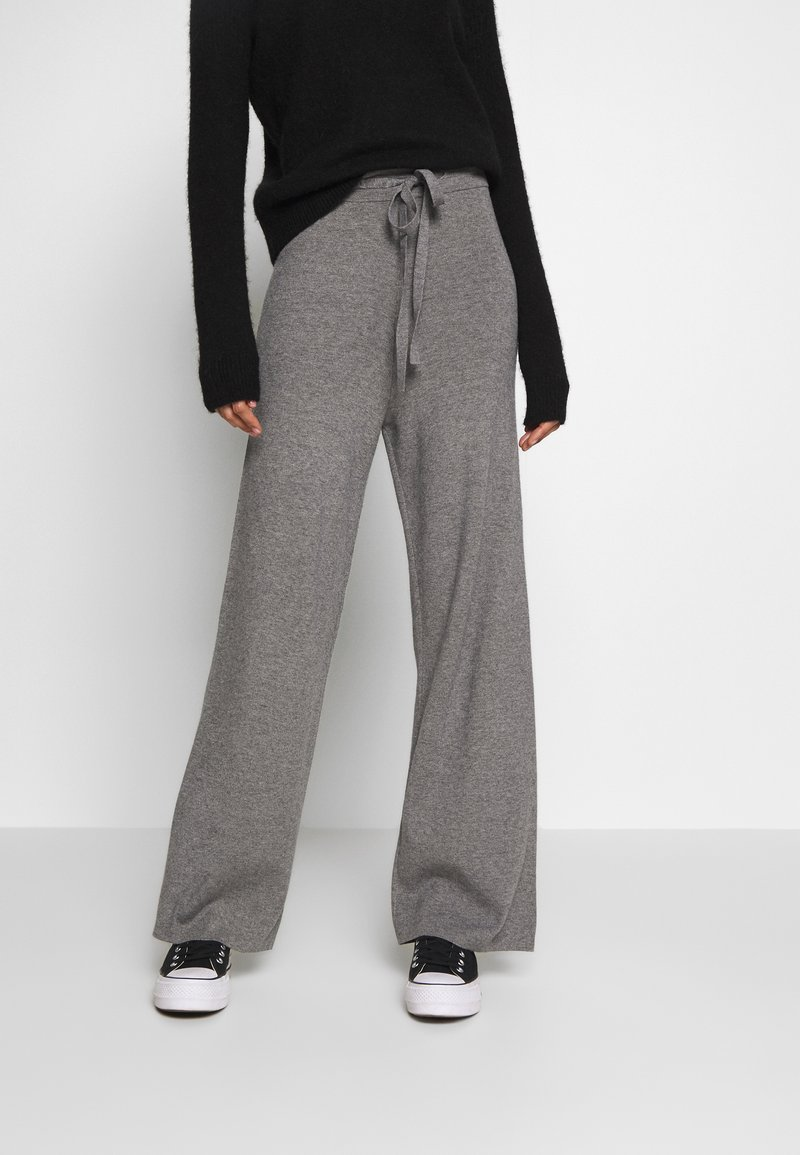 Fashion Union - OZARK TROUSER - Trousers - grey