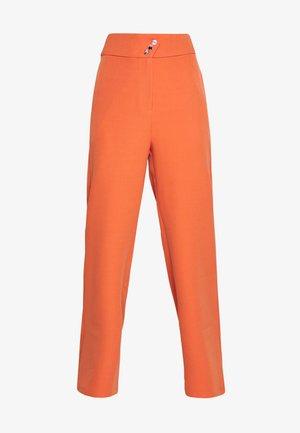 PECHE TROUSERS - Pantalon classique - orange
