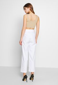Fashion Union - WISTER TROUSERS - Trousers - cream - 2