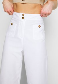 Fashion Union - WISTER TROUSERS - Trousers - cream - 4